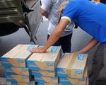 Hỗ trợ 50.000 hộp sữa cho lực lượng tuyến đầu chống dịch Cần Thơ