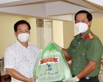 Công an An Giang tặng gần 1.000 suất quà cho bà con nghèo TP Cần Thơ