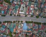 Nhìn từ trên cao, Hà Nội vắng vẻ vì giãn cách xã hội