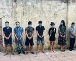 Bắt 8 thanh niên sử dụng ma túy tại quán karaoke