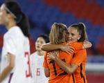 Bóng đá nữ Olympic Tokyo: Hà Lan thắng đậm Trung Quốc, Mỹ, Nhật giành vé đi tiếp