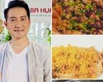 Nguyễn Phi Hùng bày đậu hũ non xóc hột vịt muối, miến tôm, cơm sườn lạp xưởng