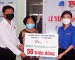 Gia đình cận vệ Bác Hồ ủng hộ 50 triệu tiền phúng điếu tiếp sức tuyến đầu chống dịch