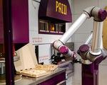 Cửa hàng pizza chỉ toàn robot phục vụ
