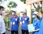 Chiến sĩ tình nguyện: Vừa tiếp sức mùa thi, vừa đảm bảo phòng chống dịch
