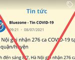 Bluezone đăng tin