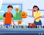 Video hướng dẫn chăm sóc, cách ly F0 tại nhà
