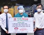 Tập đoàn Phương Trang tặng 1.000 máy lọc nước cho hệ thống y tế tuyến đầu