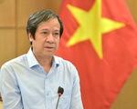 Bộ trưởng Nguyễn Kim Sơn: Năm học mới phải chuyển trạng thái, giảm tổn thương trước dịch bệnh