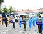 Công an An Giang ra mắt lực lượng truy vết dịch COVID-19, tặng 3.000 phần quà cho người nghèo