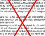 Phạt chủ Facebook Hằng Nguyễn 5 triệu vì đăng tin gây hoang mang về cứu trợ