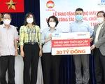 Tập đoàn Sovico, HDBank tặng 100 máy thở cao cấp, hiện đại cho TP.HCM