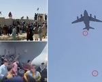 Video người Afghanistan rơi từ trên trời xuống khi đu máy bay Mỹ