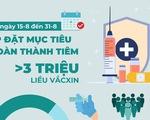 Từ nay tới 15-9, TP.HCM tiêm vắc xin ra sao?