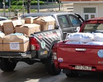 Ra mắt đội xe tình nguyện phòng chống dịch COVID-19