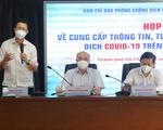 TP.HCM bổ sung phó Ban chỉ đạo phòng chống dịch COVID-19 phụ trách phát ngôn