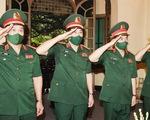 Bộ Quốc phòng dâng hương tưởng niệm Đại tướng Võ Nguyên Giáp