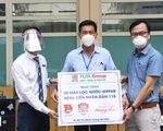 Tặng 45 máy lọc nước cho Bệnh viện Nhân dân 115 và Bệnh viện quận Tân Phú