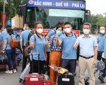 2 đoàn y bác sĩ Bắc Ninh, Tuyên Quang tiếp tục vào hỗ trợ TP.HCM chống dịch