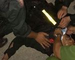 5 chiến sĩ công an bị tấn công khi bảo vệ vận chuyển thiết bị điện gió
