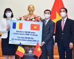 Romania tặng 300.000 liều vắc xin AstraZeneca cho Việt Nam