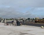 Dự án nâng cấp đường băng sân bay Tân Sơn Nhất thi công trở lại từ 25-8