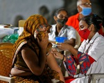 Ấn Độ lập kỷ lục tiêm hơn 10 triệu liều vắc xin COVID-19 một ngày