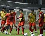 Đội tuyển Việt Nam tập dưới nhiệt độ 43 độ C
