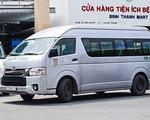 TP.HCM hoán cải xe khách 15 chỗ thành xe chở bệnh nhân COVID-19