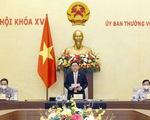 Chủ tịch Quốc hội làm việc với Tổ công tác của Ủy ban Thường vụ Quốc hội về chống dịch COVID-19