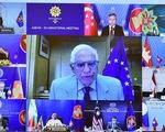EU cam kết cung ứng vắc xin COVID-19 cho ASEAN, ủng hộ đàm phán ở Biển Đông