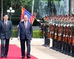 Lãnh đạo Việt Nam, Lào bàn về hợp tác toàn diện, Biển Đông, nguồn nước sông Mekong