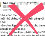 Xử phạt hai chủ tài khoản Facebook vì vô ý chia sẻ tin