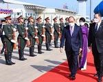 Chủ tịch nước Nguyễn Xuân Phúc bắt đầu thăm chính thức CHDCND Lào