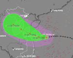 Từ đêm nay 10-9, Quảng Trị đến Quảng Ngãi sẽ có mưa to do bão số 5
