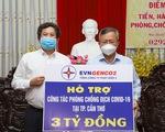 EVNGENCO2 ủng hộ 3 tỉ đồng Cần Thơ phòng, chống dịch COVID-19