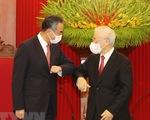 Tổng bí thư Nguyễn Phú Trọng tiếp Ngoại trưởng Trung Quốc Vương Nghị