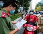 Shipper công nghệ Hà Nội hoạt động trở lại phải tiêm vắc xin, âm tính với SARS-CoV-2