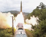Triều Tiên phóng vật thể bay nghi là tên lửa đạn đạo ra biển Nhật Bản