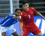 World Cup futsal 2020, Việt Nam - Czech: Nỗ lực nắm quyền tự quyết