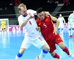 Đội tuyển futsal Việt Nam được thưởng 1 tỉ đồng sau khi lọt vào vòng 1/8 World Cup