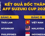 Việt Nam gặp Malaysia, Indonesia, Campuchia ở AFF Cup 2020
