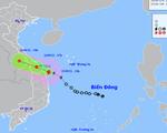 Bão số 6 trên vùng biển từ Quảng Trị đến Quảng Ngãi, nhiều nơi ở miền Trung mưa lớn