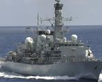 Tàu chiến Anh băng qua eo biển Đài Loan đến thăm Việt Nam