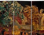 Sotheby's rút bình phong