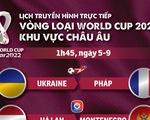 Lịch trực tiếp vòng loại World Cup 2022 khu vực châu Âu: Tâm điểm Pháp và Hà Lan