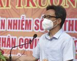 Phó thủ tướng Vũ Đức Đam khai trương Bệnh viện dã chiến truyền nhiễm 5G