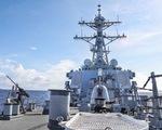 Tàu chiến Mỹ vào Biển Đông thách thức
