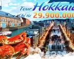 Tham quan thiên đường tuyết Hokkaido