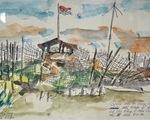 Triển lãm 112 bức ký họa kháng chiến Tây Nam bộ